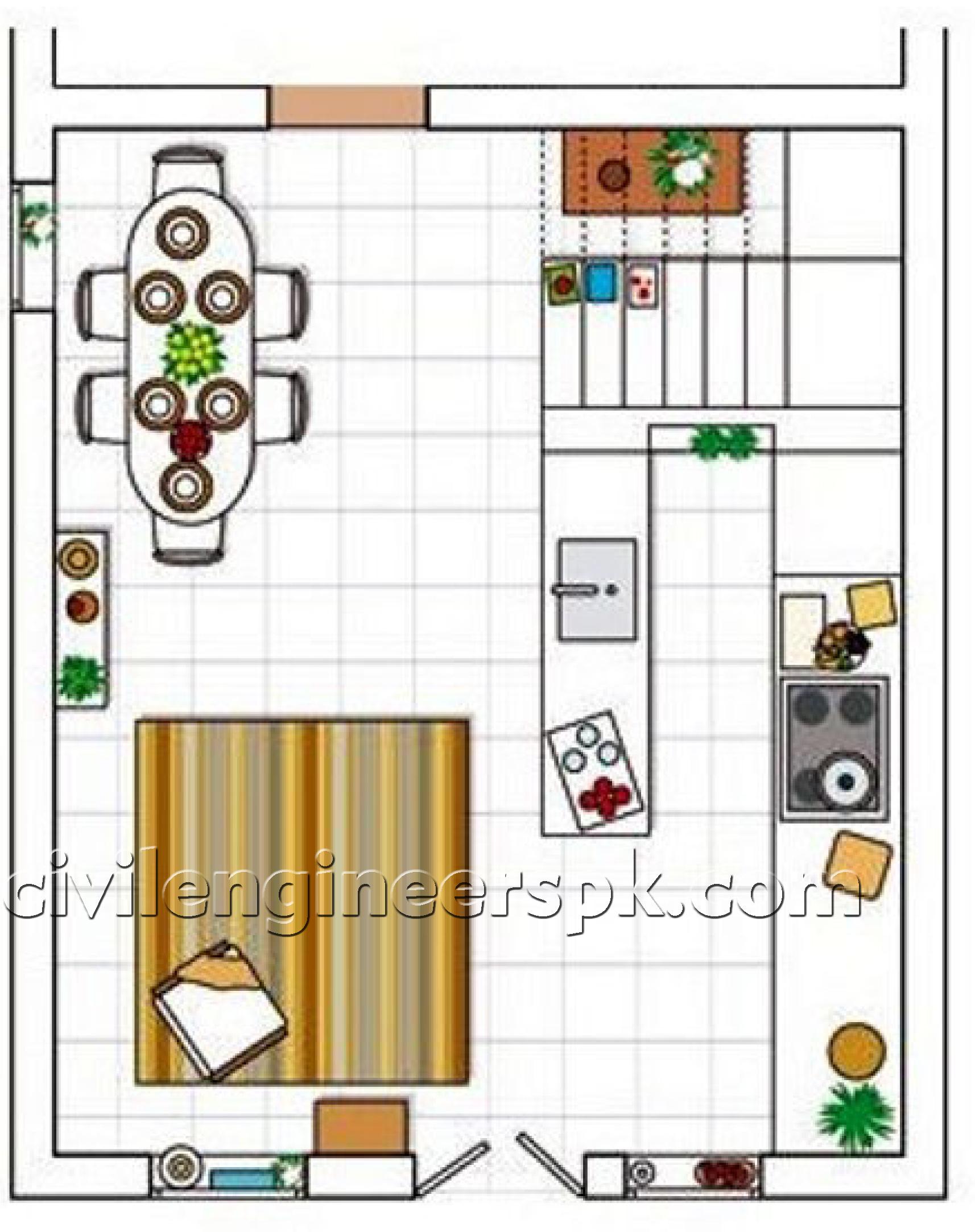 Kitchen designs 24 28 civil engineers pk for Civil kitchen designs