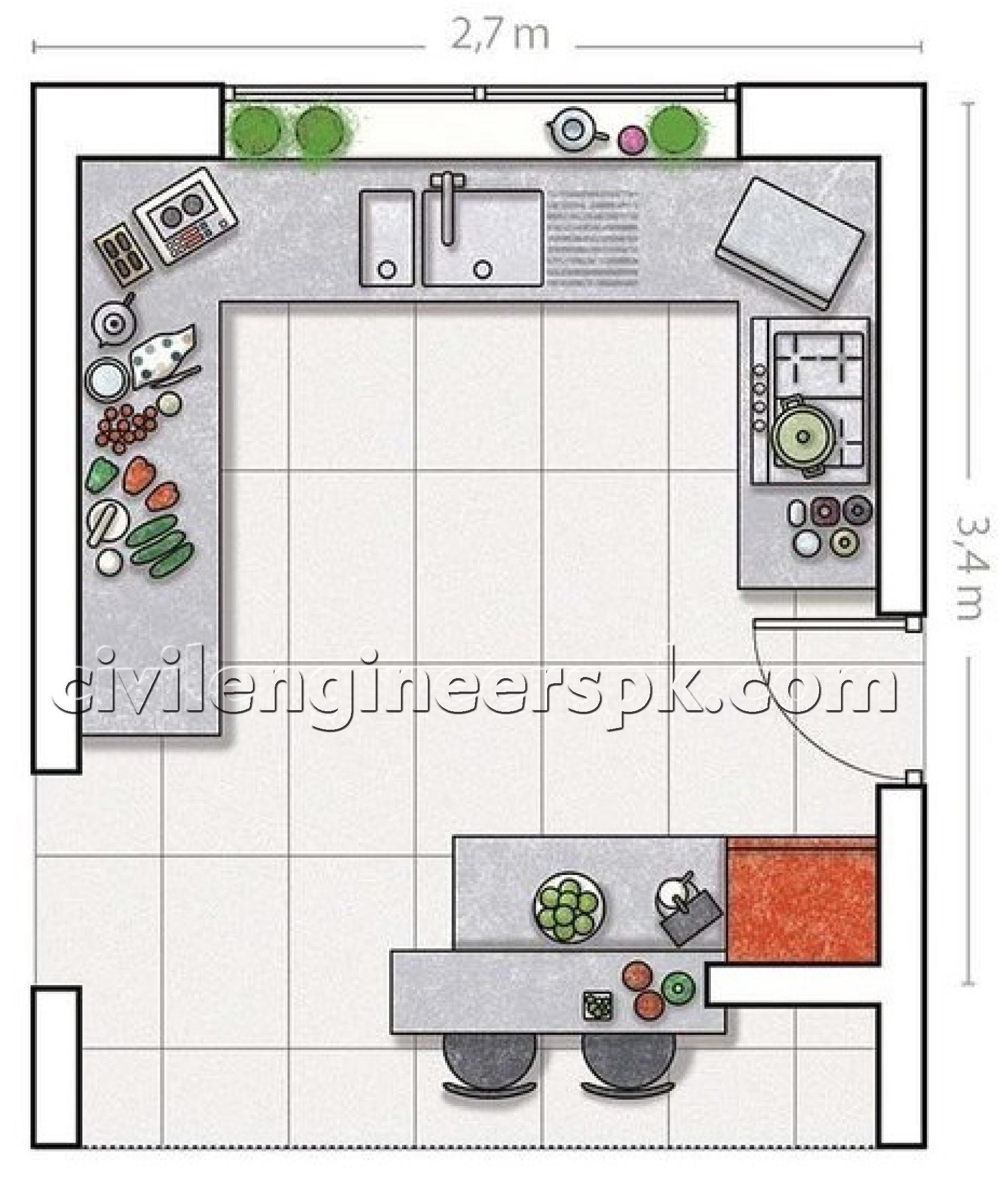 Kitchen designs 29 33 civil engineers pk for Civil kitchen designs