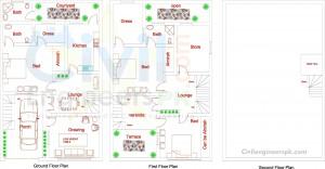 4.25 Marla House Design