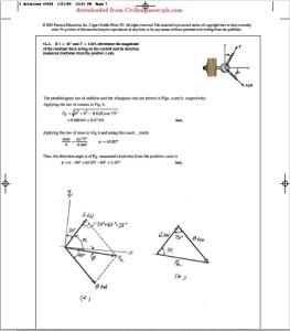 Solution Engineering Mechanics Statics