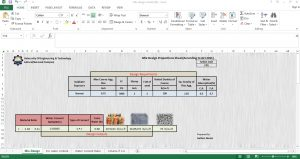 Free Concrete Mix Design Excel Sheet