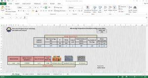 Free Concrete Mix Design Excel Sheet