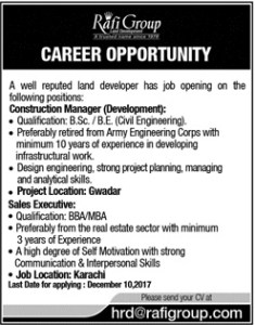 Sunday Jobs Civilengineerspk 27-11-2017