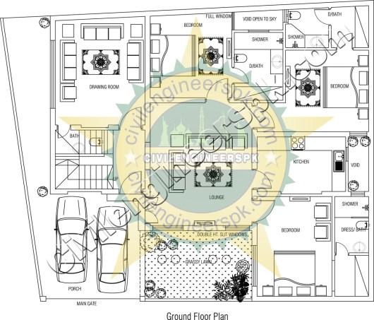New Modern 10 Marla House Design