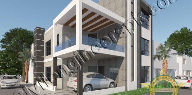 New 7 Marla House Design