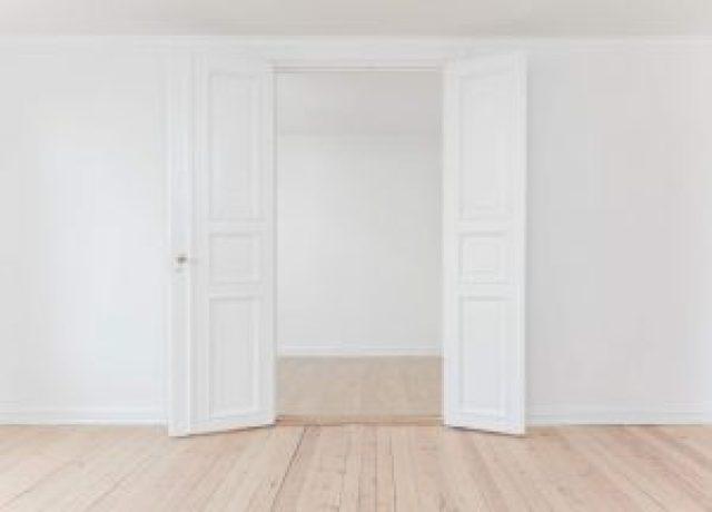 wooden double door design for home
