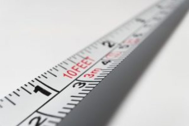 Measuring Tape used for Unit Conversion in Civil Engineering