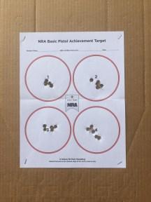 NRA Basic Pistol 1a