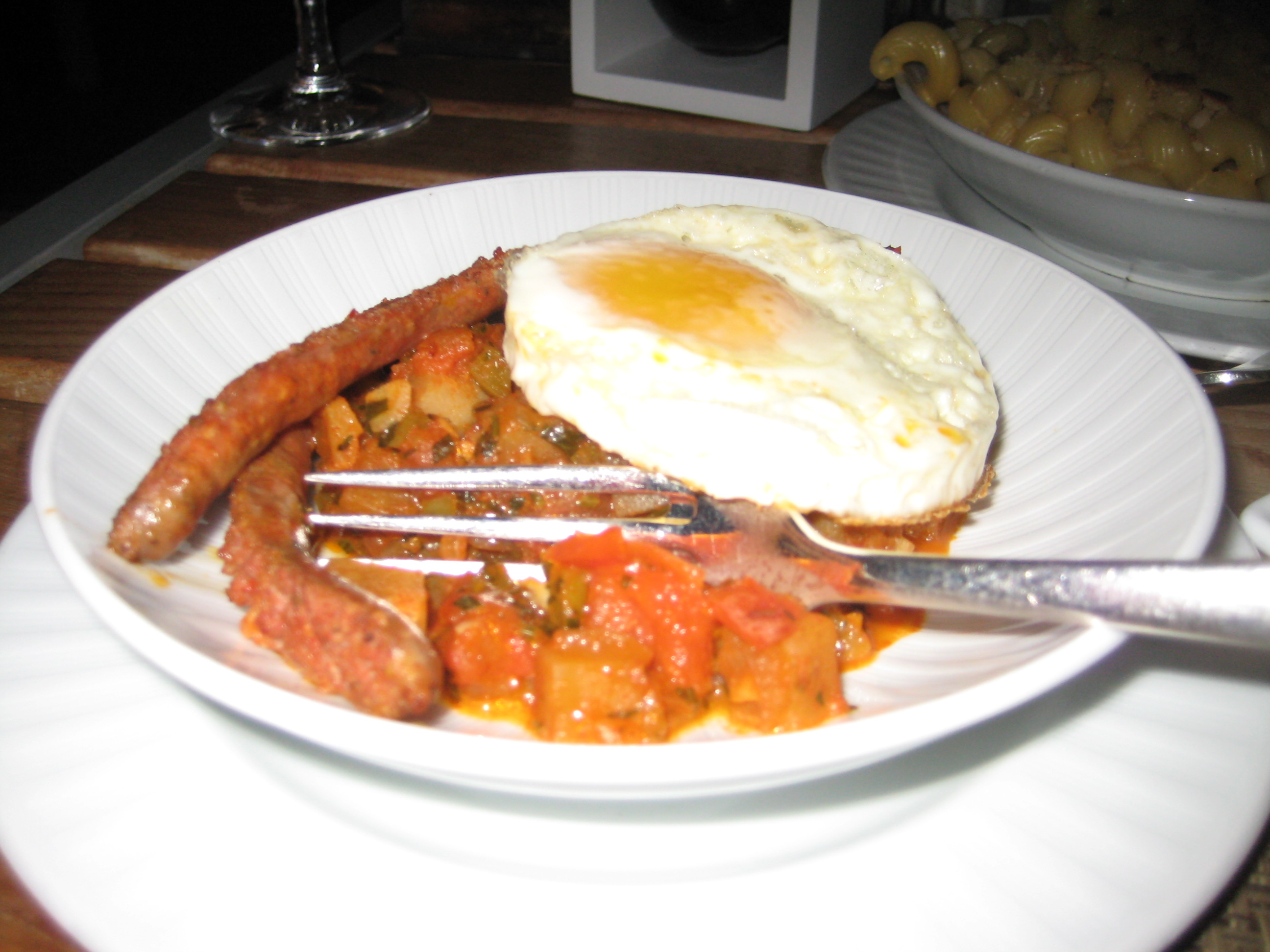 One of the hot tapas items at Neomi's at The Trump Int'l