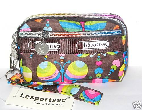 Handy, nylon zippy bags from Le Sportsac are a travel necessity in my book.
