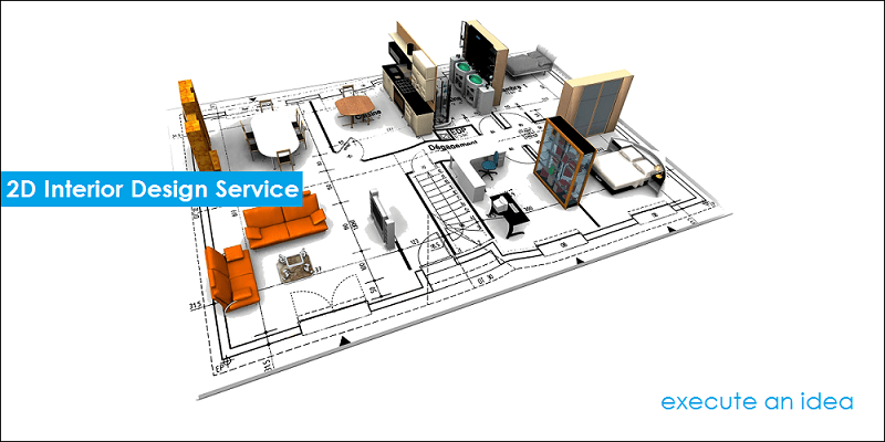 2D Interior Design Service for Indian Homes