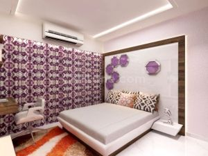 3D Master Bedroom Design 3