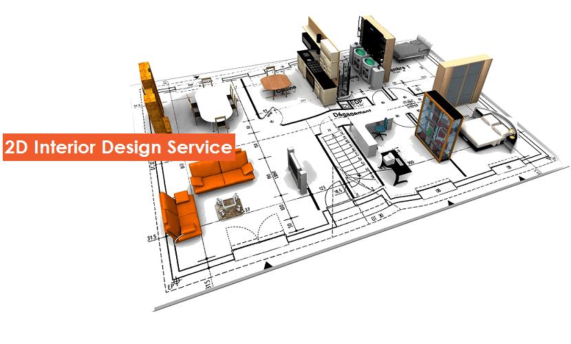 CivilLane 2D Interior Design Service Mumbai