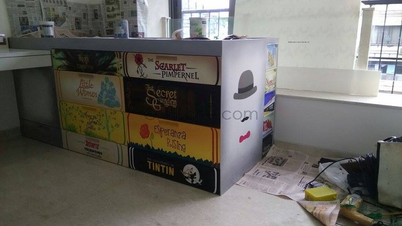 Kidsroom Novel Books Theme