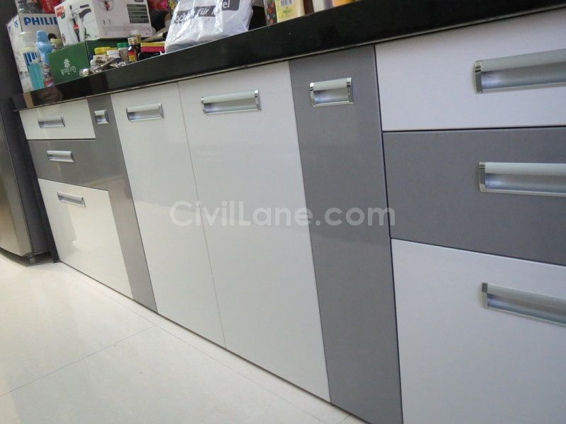 kitchen laminate cabinet blueprints color selection tips civillane combinations 5