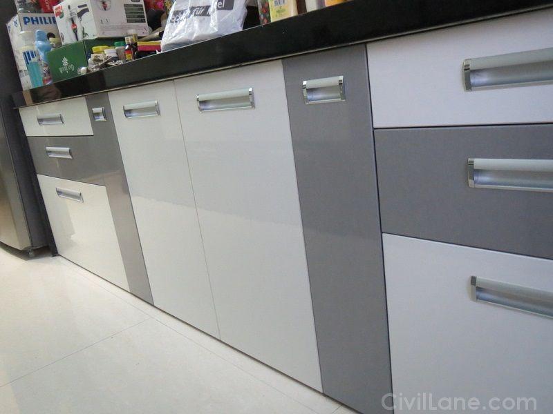 Types of Finishes In Modular Kitchen | CivilLane