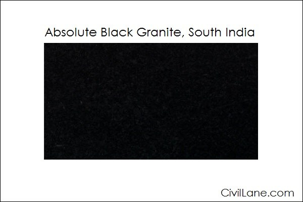 Top 5 Absolute Black Granite Mined From South India