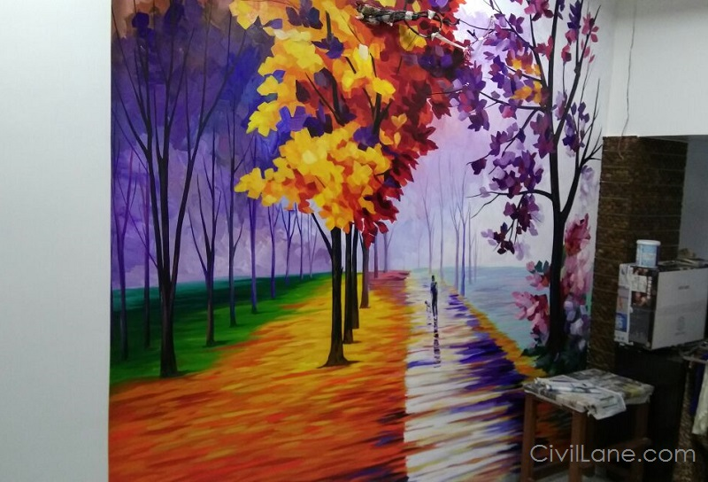 Wall Painting Ideas For Home