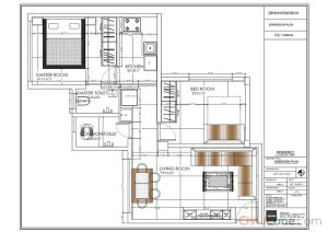 2BHK Floor Plan Layout Vikhroli Mumbai