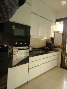 White Modular Kitchen Designs Lower Parel Mumbai (2)