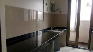 Black Granite Kitchen Platform