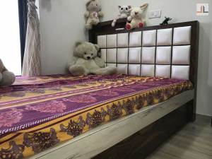 1BHK Converted Into 2BHK Mumbai Small Children Bed Design