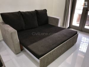 1BHK Home Interior Design Mumbai Sofa cum Bed