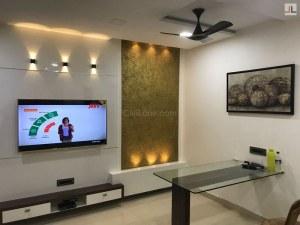 Charcoal Sheet Highlighter TV Unit Design Mumbai Thane