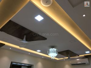 Living Room False Ceiling Design Ideas