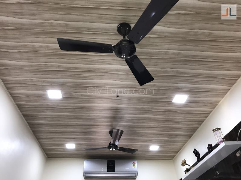 Pvc False Ceiling Design Wood Grains Civillane