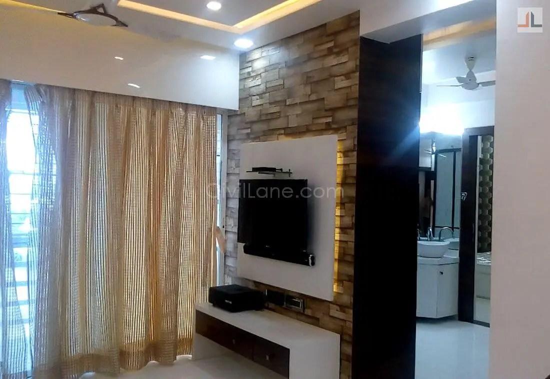 TV Unit Design For Living Room Gujarat
