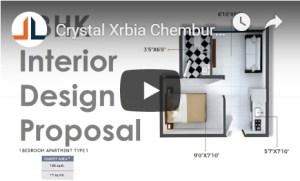 1BHK Interior Design Proposal CivilLane