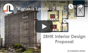 2BHK Interior Design Proposal Kanakia Levels Malad East Mumbai