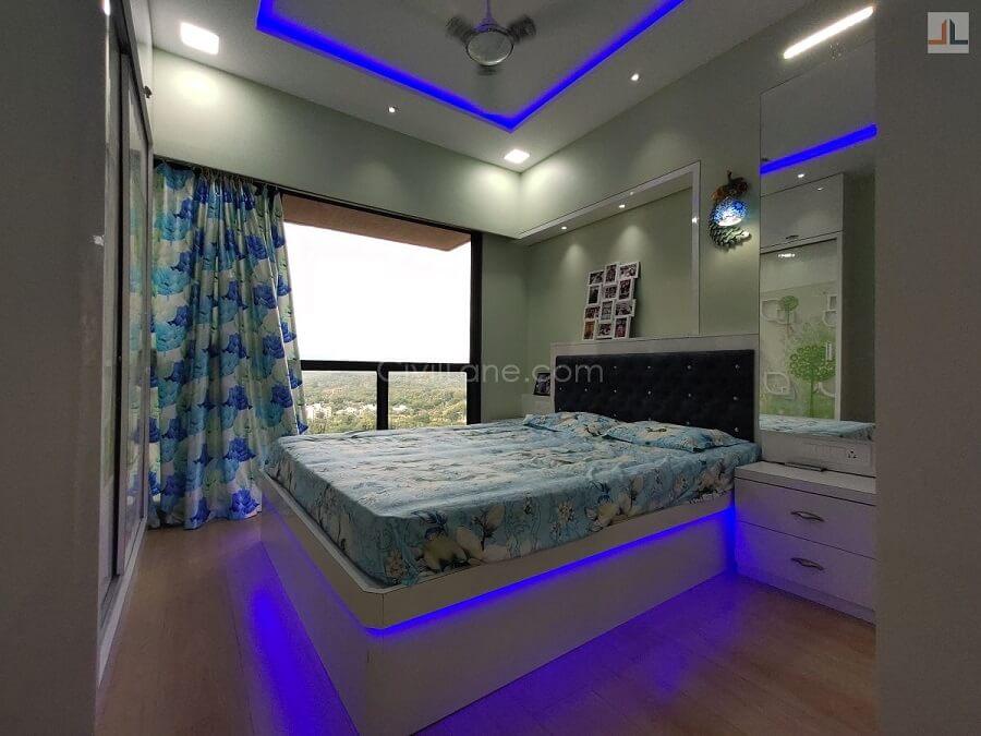 Queen Size Bed Design Hydraulic Storage Back Rest Cushion