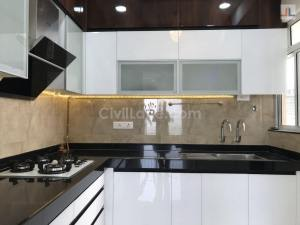 L-Shaped Modular Kitchen Design Aundh Ravet BRTS Road Pune CivilLane