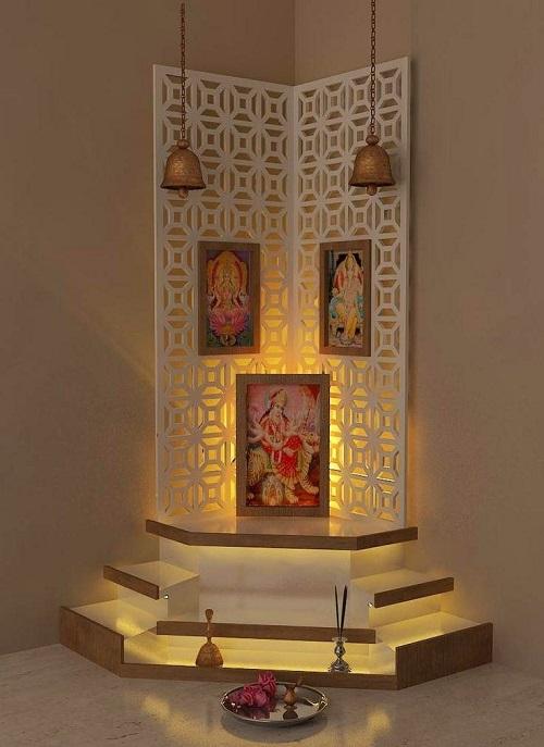 Pooja Room Design Ideas The Corner Of Hope Peace Civillane