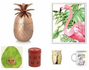 Artistic decor items for home interiors