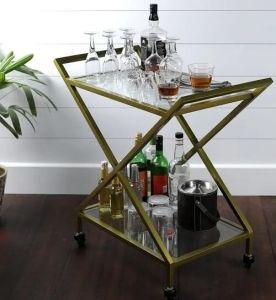 Stylish bar cart