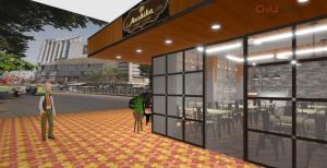 3D Bakery Shop Interior Design With Facade (3)