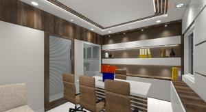 3D Small Office Space Interior Design (3)