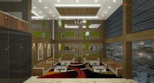 Corporate Building Reception Area Design (2)