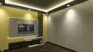 TV Unit Design 8 Feet 10182-2