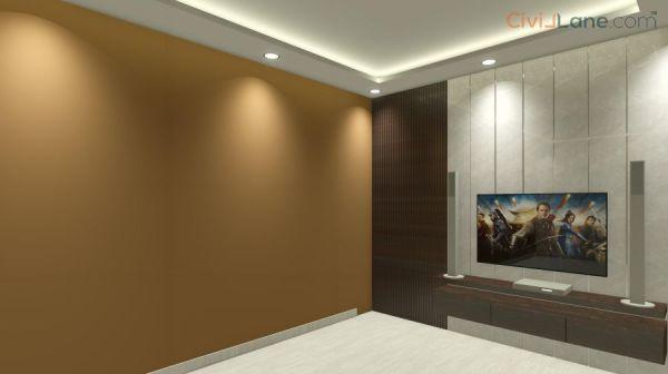 TV Unit Design 9-5 Feet 10515MR-2