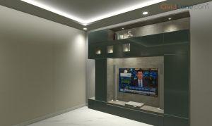 TV Unit Design 9 Feet 49944-2