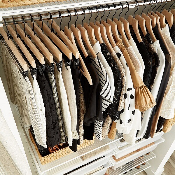 Suitable hangers for Womens Closet