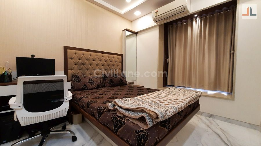 Bedroom Bed Design With Study Table And Dressing Table