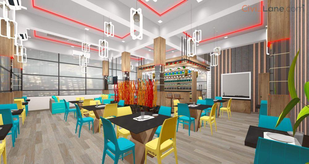 Restaurant Bar Interior Decor