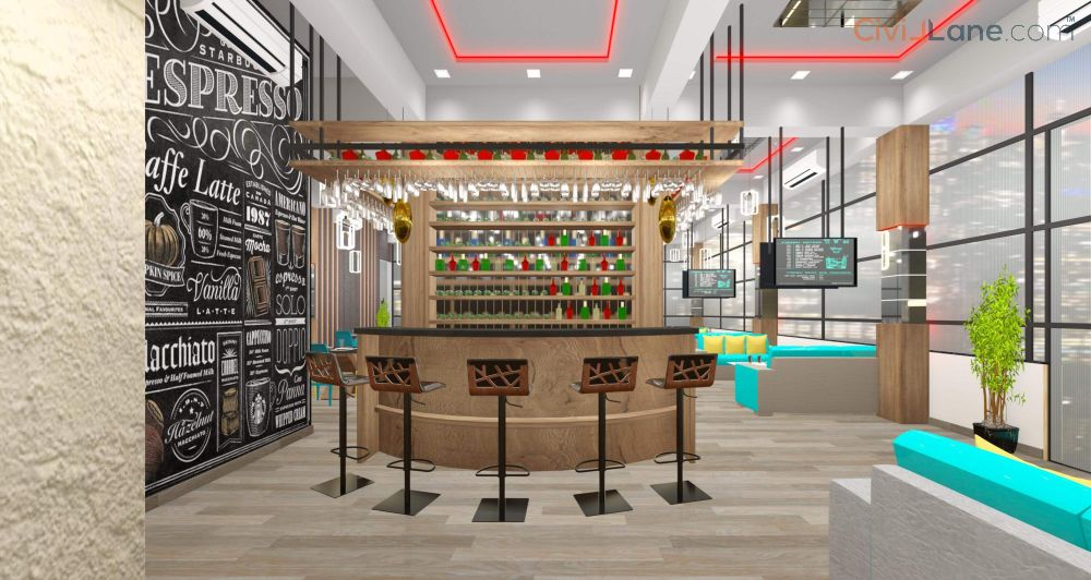 Restaurant Bar Interior Designer Mumbai