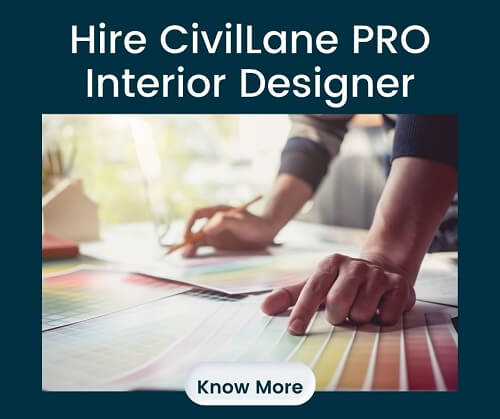 Hire CivilLane Pro Interior Designer