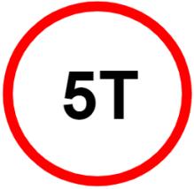 """Symbol image of """"Load Limit"""" sign"""